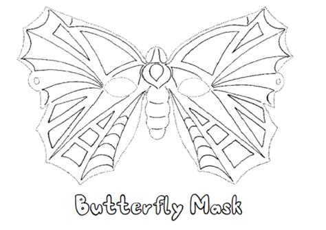 butterfly mask coloring pages butterfly mask coloring page sketch coloring page