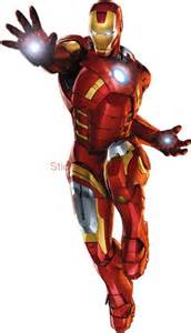 Iron Man Wall Sticker details about iron man the avengers decal removable wall sticker home
