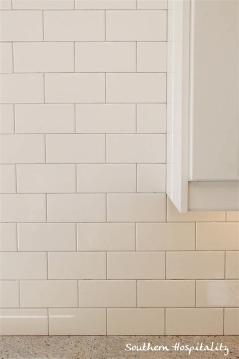 how to install a subway tile backsplash