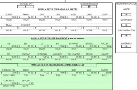 Earthwork Estimating Spreadsheet by Use Quote Beginning Research Paper