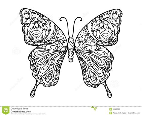 butterfly patterns coloring pages zentangle color butterfly www pixshark com images