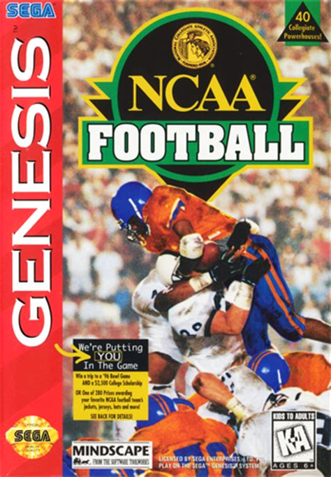 play ncaa football sega genesis play retro