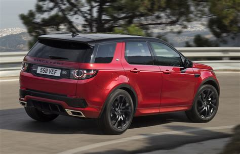 land rover discovery sport red land rover discovery sport gets new hse dynamic lux for