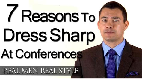 7 Reasons I To Boys by 7 Reasons Why You Should Dress Sharp At Conferences