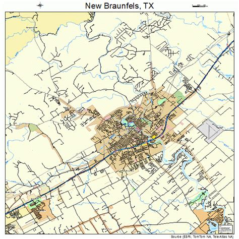 map of new braunfels texas new braunfels texas map images frompo 1