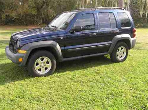 2006 Jeep Liberty Diesel Purchase Used 2006 Jeep Liberty Turbo Diesel 4x4 Crd