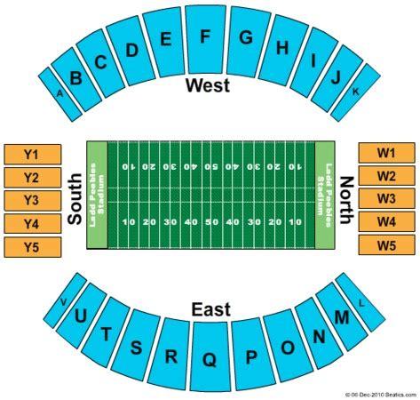 of stadium seating capacity ladd peebles stadium tickets in mobile alabama seating