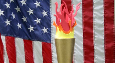How To Make A Paper Torch - how to make an olympic torch hoosier