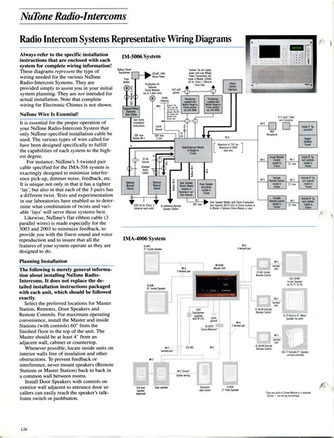 wiring diagram for nutone intercom nutone door bell