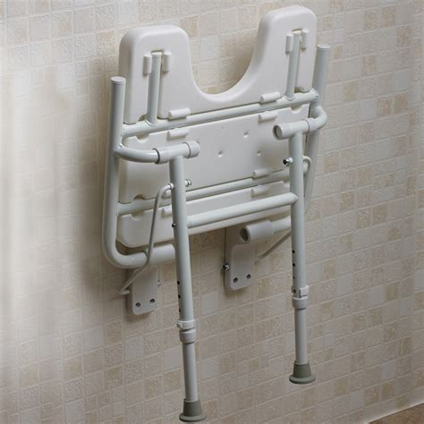 Bathroom Shower Seats Wall Mounted Age Uk Wall Mounted Folding Shower Seat