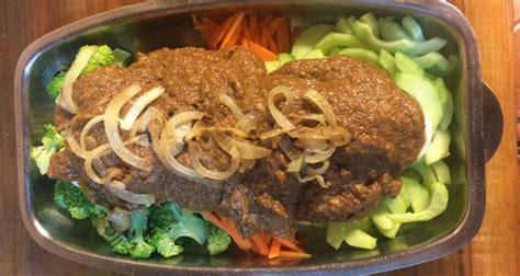 receta  gado gado  salsa de mani