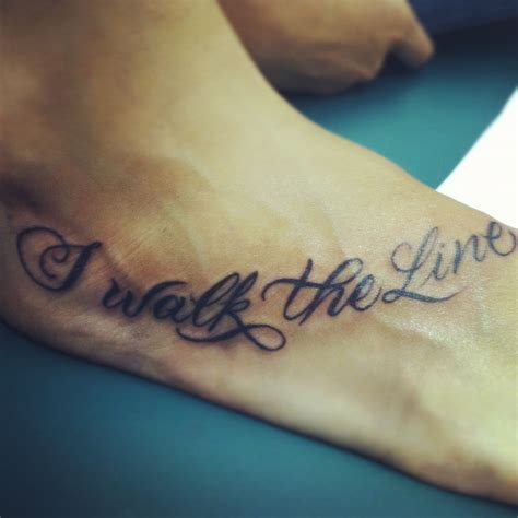 walk the line tattoo walk the line joaquin sing in walk the line