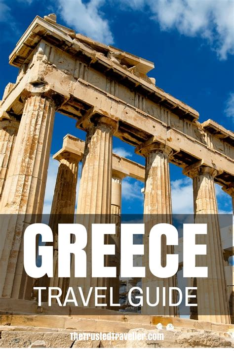 greece travel guide  trusted traveller