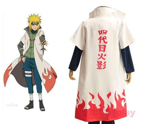 Hoodie Keren Anime Minanto N 24 anime costumes namikaze minato robe yondaime hokage cape cloak in clothing