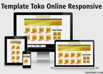 template toko online versi mobile template toko online responsive blogtokoresponsive