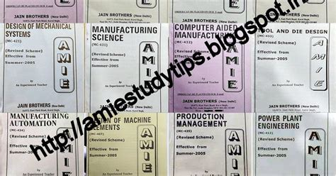 amie mechanical engineering 10 years previous exams solved