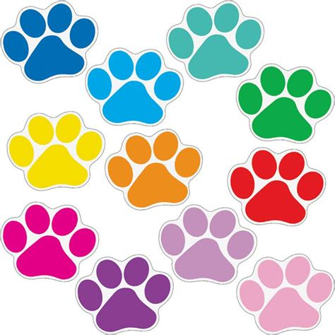 Carset 3in1 Animal Print student name paw print magnets