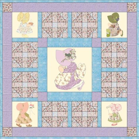 quilt pattern sunbonnet sue sunday sunbonnet sue lap quilt pattern by prairiest633318