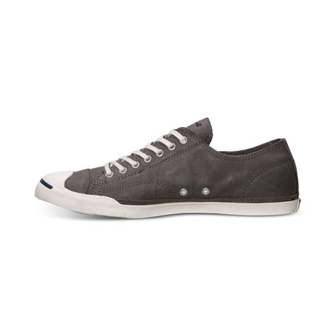 Converse Casual Grey lyst converse mens purcell lp casual sneakers from