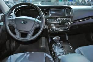 Kia Cadenza 2014 Interior by 2013 Detroit 2014 Kia Cadenza Interior Egmcartech