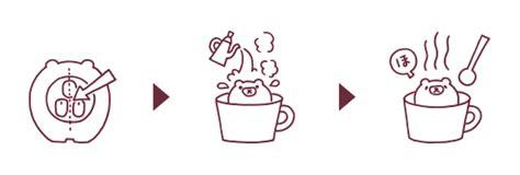 icon design kumas shiru kuma cafe on behance