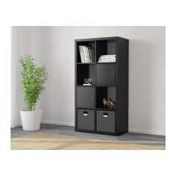 Hemnes Bookcase Assembly Instructions Ikea Shelving Kallax Unit Bookcase Bookshelf Black 77 X