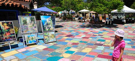 Artisans Table Spanish Village Art Center Is A Balboa Park Attraction