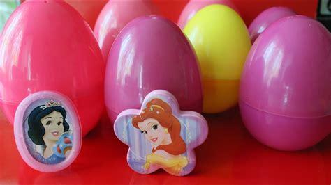 disney princess egg surpise toys youtube
