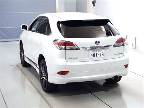 toyota lexus 2012 buy import toyota lexus rx 2012 to kenya from japan auction