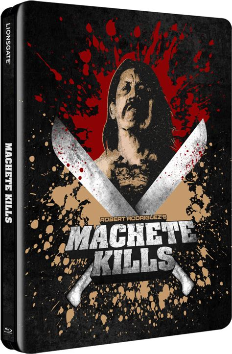 Exclusive Limited Editions At 20ltd by Machete Kills Zavvi Exclusive Limited Edition Steelbook