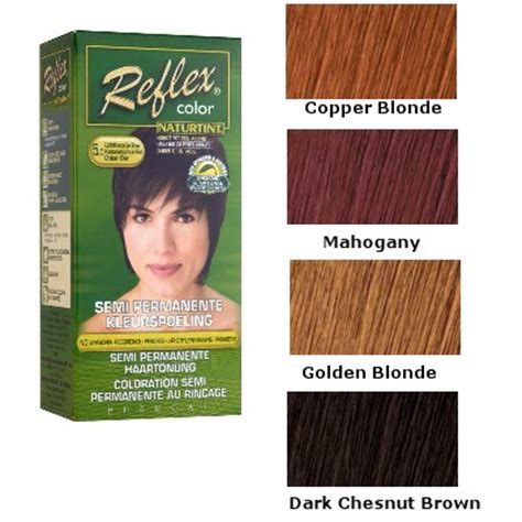 naturtint colors naturtint reflex color non permanent color rinse