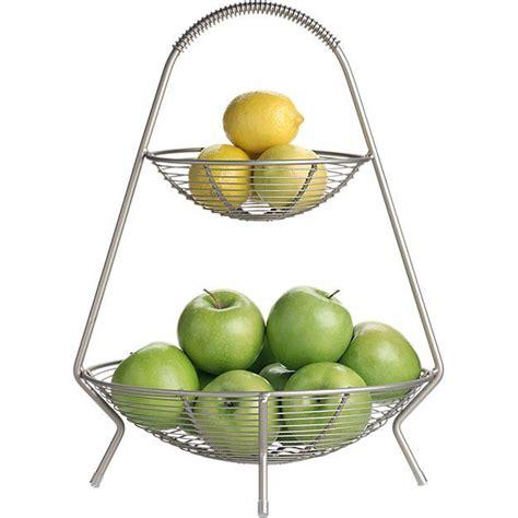 spice rack pugs handled 2 tier wire fruit basket shops spice racks and fruits basket