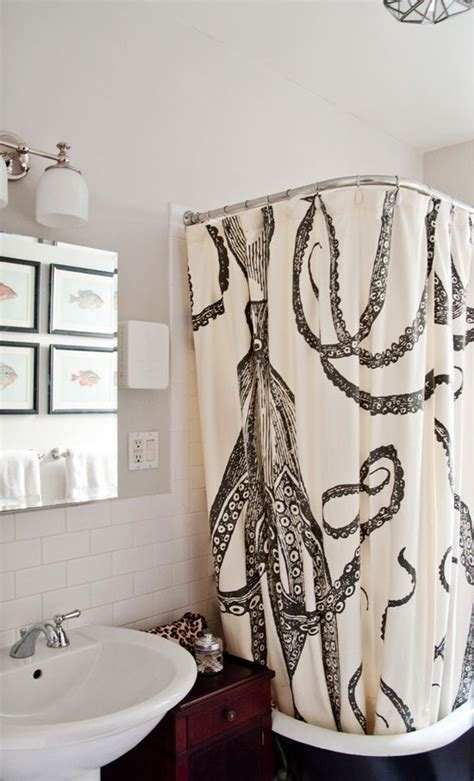 octopus bathtub obsessed with this octopus shower curtain very cool