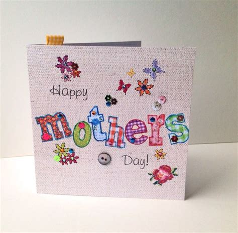 mother day greeting card design mother s day greeting card printed applique design