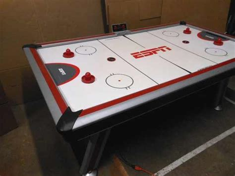 espn air hockey table lso auctions lot a506 working sportcraft espn air