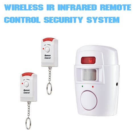 home alarm security system wireless pir infrared motion