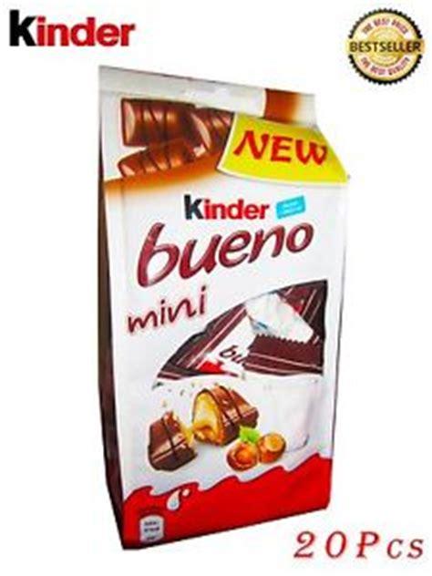 Kinder Bueno Mini Sale kinder bueno mini chocolate bars 108 g 3 80 oz 20 pcs ebay