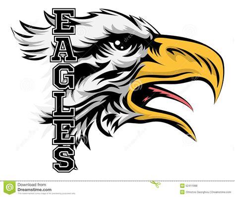 eagles mascot stock vector image 52411988