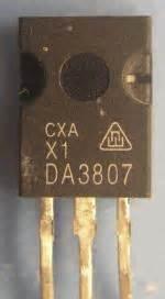 sustituto transistor c3807 solucionado diferiencia entre el d3807 y el c3807 yoreparo