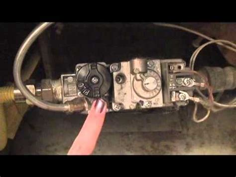 how to light a pilot light on a gas fireplace how to light your pilot light easy quick youtube