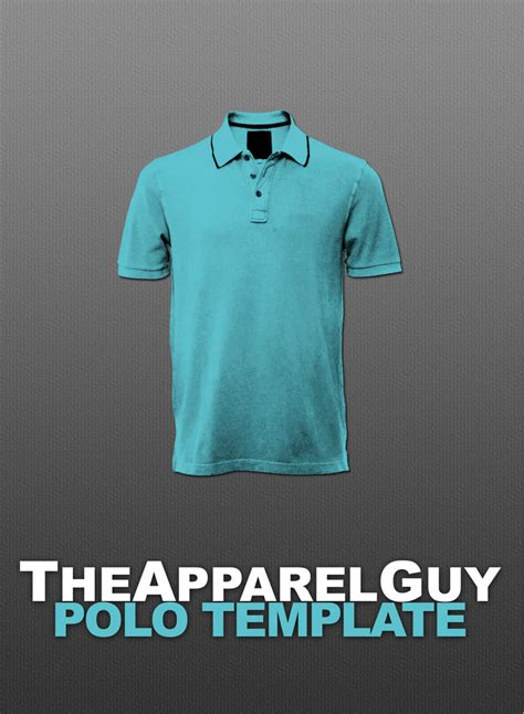 photoshop polo shirt template basic polo psd by theapparelguy on deviantart