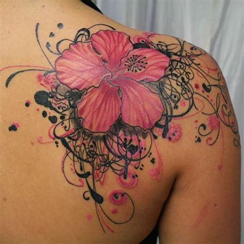 tattoos for men flowers gallery for flower for on shoulder