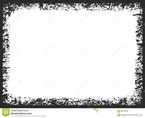 Grunge Rectangle Frame Stock Vector   Image: 66670589