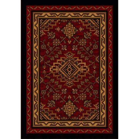 kindred spirit quot redwood quot rustic rug