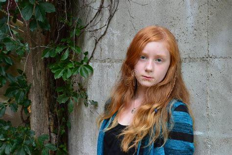hair farm download tween red head long hair female stock photo image of