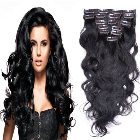 aliexpress buy american clip in human hair