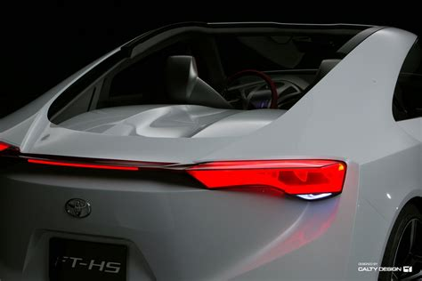 Toyota Ft Hs Toyota Ft Hs Concept Five Axis