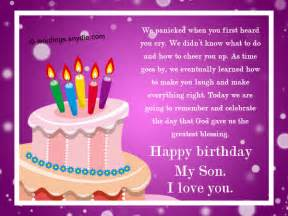 birthday wishes for sons nicewishes