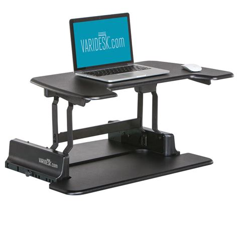 standing laptop desk varidesk laptop 30 height adjustable standing desks laptop
