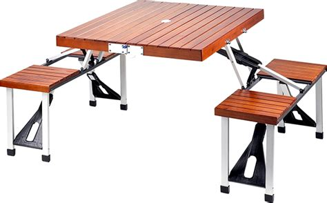 tailgate folding picnic table tailgate folding wooden picnic table gearculture